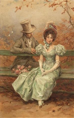 a flirtation by frederik hendrik kaemmerer