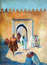 bab assa extérieur - tanger by mohamed ataalah