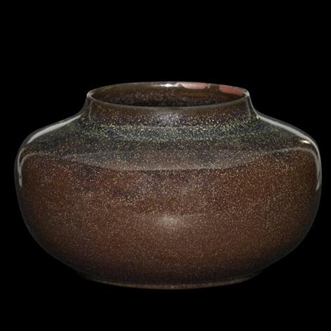 squat vessel by grand feu art pottery