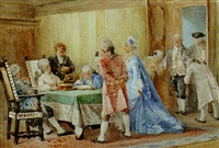 the marriage settlement by g. campi