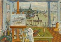l'atelier de l'artiste à amsterdam by louis cazals