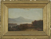 scenery on lake george by george herbert mccord