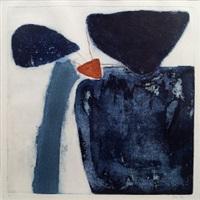 blue stones; orzola; quavzazale; fabiene (4 works) by heidi konig