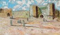 devant les remparts de fez, maroc by patrice laurioz