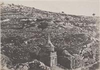 vallée de josaphat, jérusalem by auguste salzmann