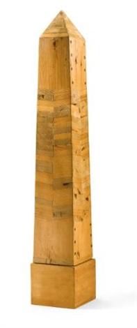 small obelisk by joe tilson