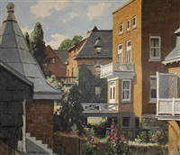 houses, montreal by richard jack