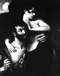 hercules and alcestis by friedrich wilhelm herdt