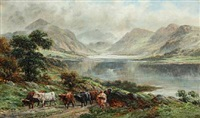 scottish landscape by william langley