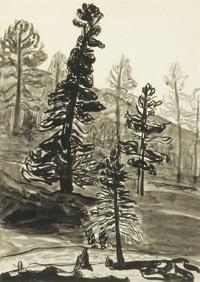 trees by helen greene blumenschein