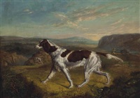 pointer on a grouse moor by ramsay richard reinagle
