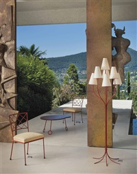 persane floor lamp by jean royère
