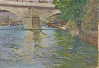 le pont royal by louis abel-truchet