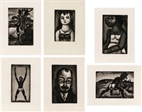 reincarnations du pere ubu by georges rouault