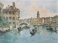 venezia by g. riva (fortunato zangli)
