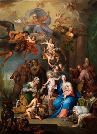 die heilige familie by franz christoph janneck
