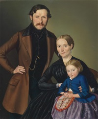 familienportrait by georg wachter