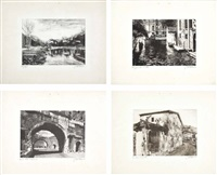 senza titolo (+ 3 others; 4 works) by giuseppe mario d' amico