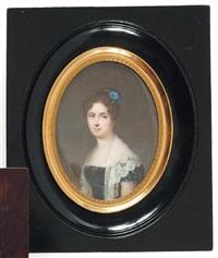 portrait de madame constance oppermann née de luze by francois meuret