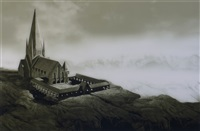 landscape for fenry by hans op de beeck