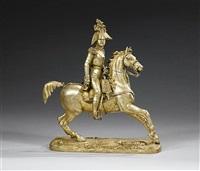 nicholas i on horseback by charles leblanc