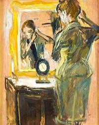 autoportrét v zrcadle by adriana simotova