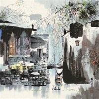 秋色 by liu maoshan