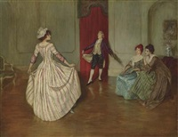the dancing lesson by william douglas almond