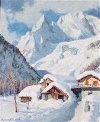 entrèves sous la neige by ange abrate