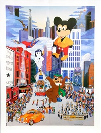 thanksgiving day parade by melanie taylor kent