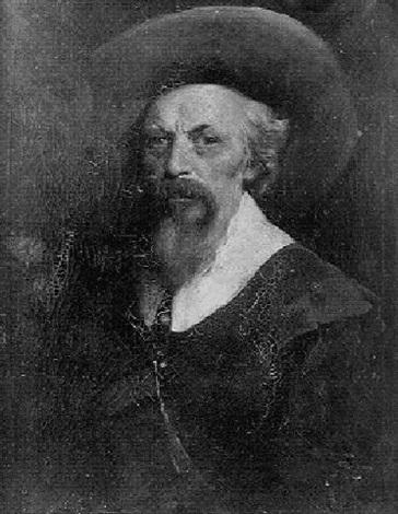 portrait dhomme au chapeau by nicaise de keyser