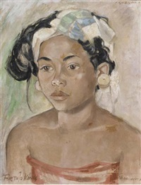 balinese woman by arthur johann könig