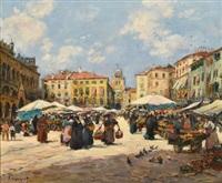marché à padoue by fernand marie eugène legout-gérard
