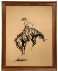 sun fisher by frederic remington