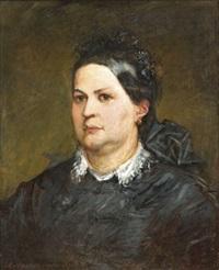 női portré by viktor madarász
