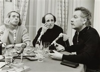 jacques brel, léo ferré et georges brassens. interview rtl-rock & folk by jean-pierre leloir