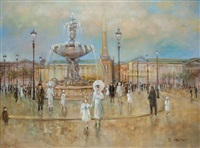 am place de la concorde by brigitte holzer