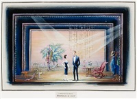 an evening with nichols & may (set design) by marvin reiss