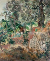 paysage by jean eugène bersier