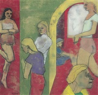 sighs from hell by ronald brooks kitaj