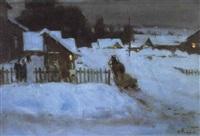 soir d'hiver by fedorov