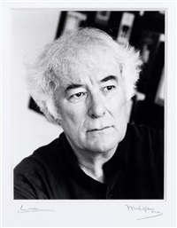 heaney, seamus (b. 1939, irish poet) by mark gerson