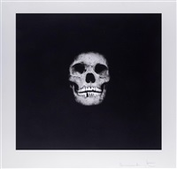 i was once what you are, you will be what i am (skull 01) by damien hirst