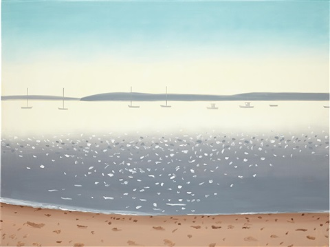 harbor 2 by alex katz