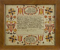 fraktur for david reichart by martin brechall