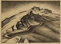 il paese di bellagra by alexander kanoldt