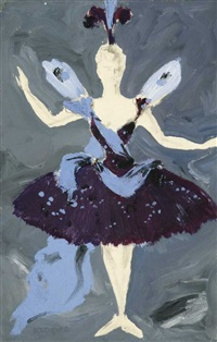 costume design for the ballet blanche neige by dimitri bouchene