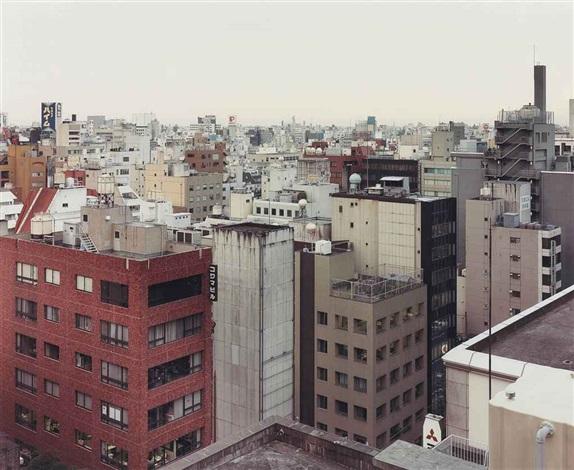 marunouchi über die dächer tokyo by thomas struth