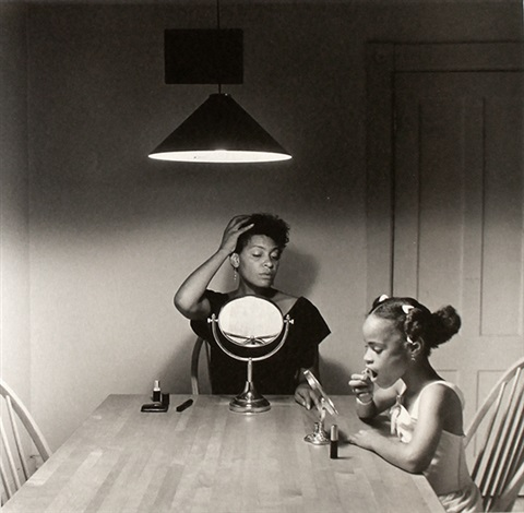 no 2449 from kitchen table series by carrie mae weems