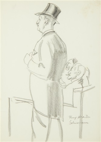 ring master schuman by dame laura knight